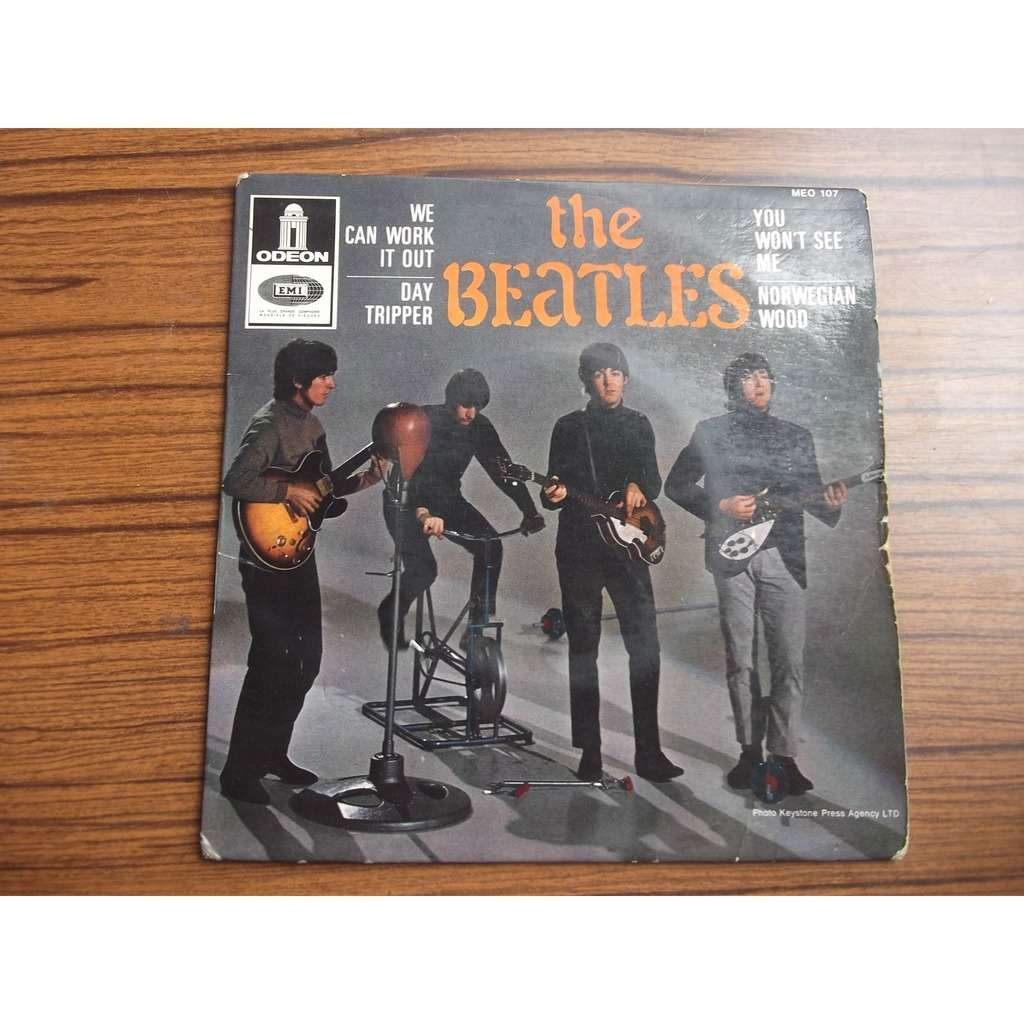 the beatles WE CAN WORK IT OUT/DAY TRIPPER/YOU WON'T SEE ME/NORWEGIAN WOOD