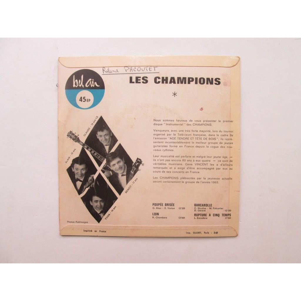 CHAMPIONS Les Instrumental - Poupée brisée