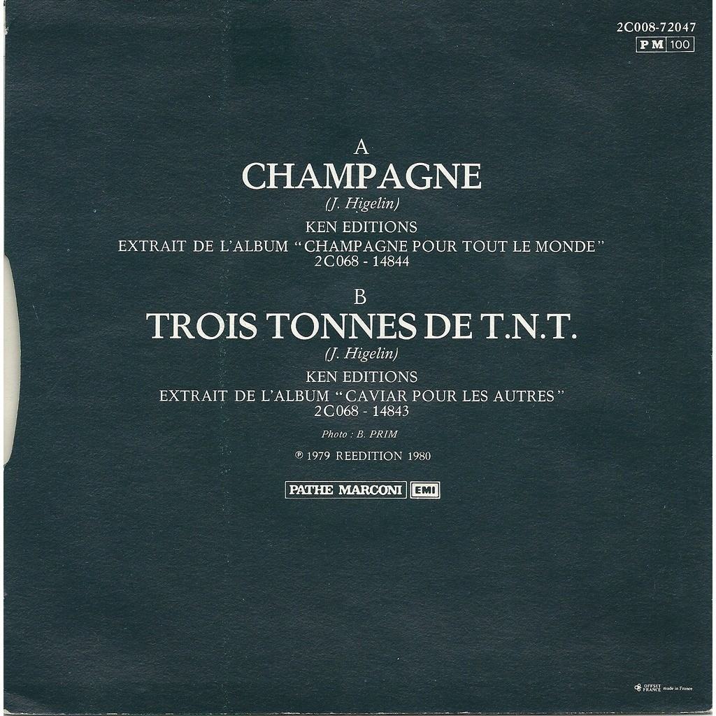 Jacques Higelin Champagne