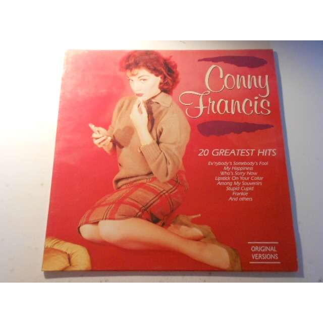 connie francis 20 greatest hits