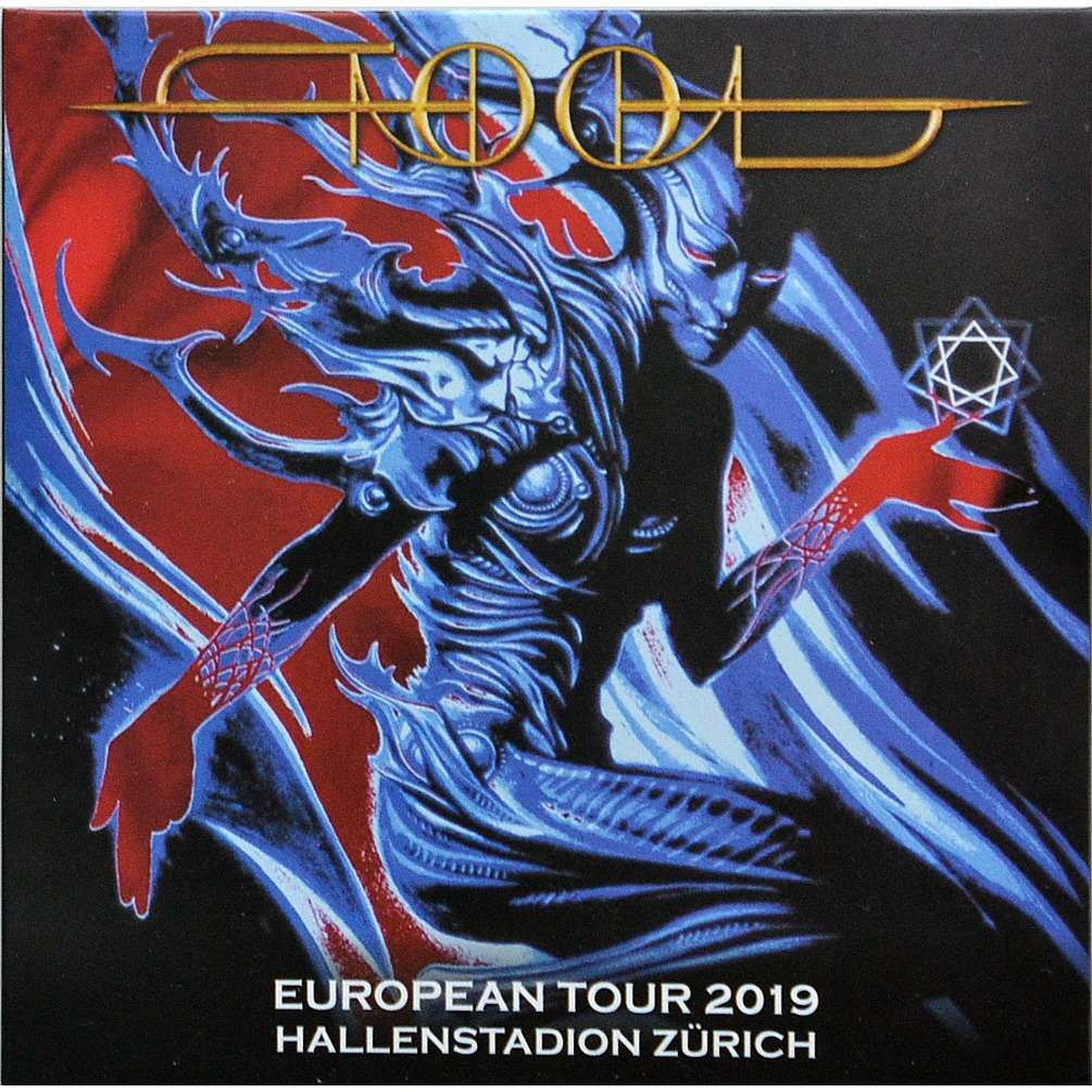 tool Live European Tour Zurich Switzerland 25 June 2019 Bonus 2CD digisleeve