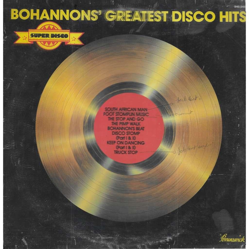 Hamilton BOHANNON Bohannon's Greatest Disco Hits