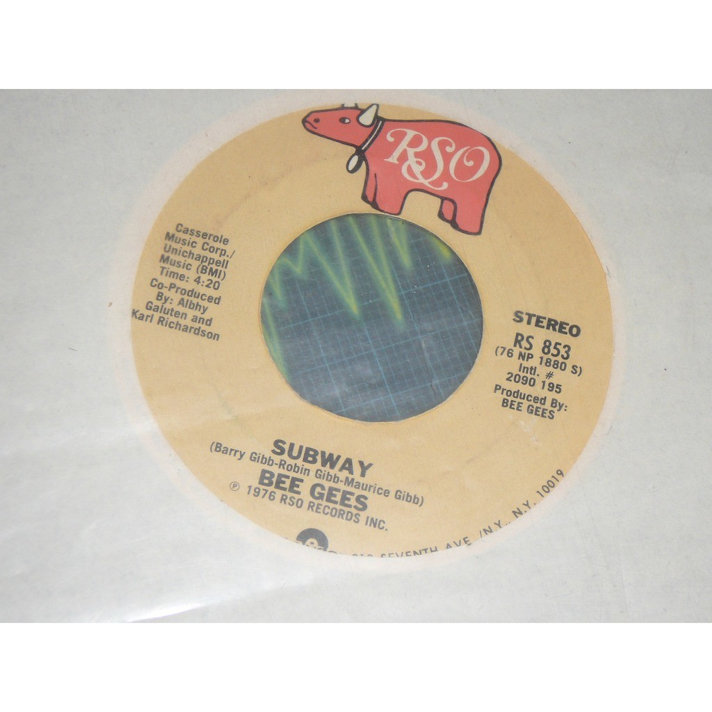 Bee Gees You Should Be Dancing / Subway