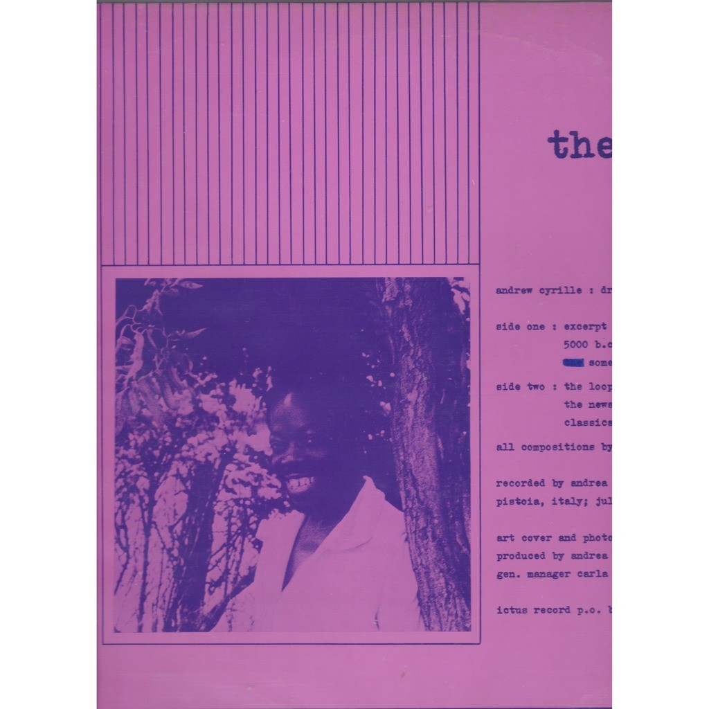 andrew cyrille the loop