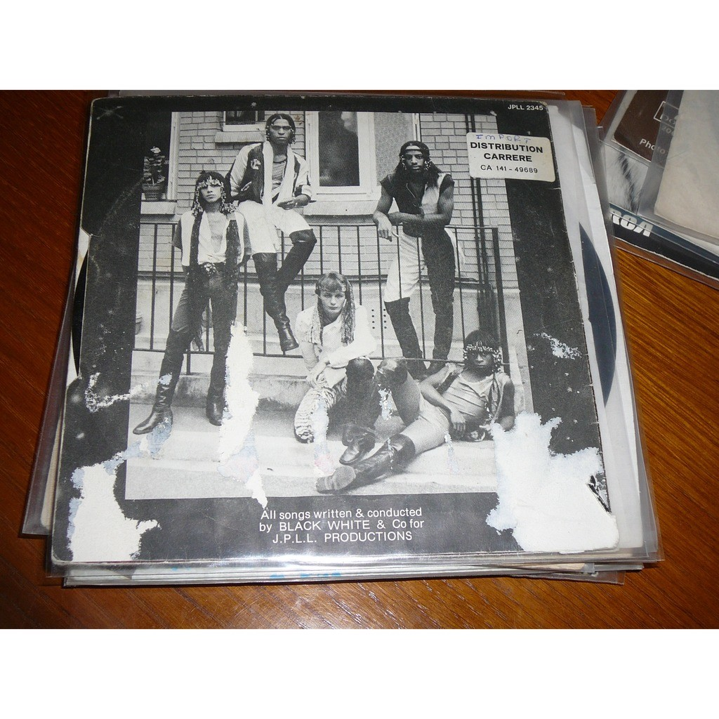 black white and co action for love / get funk