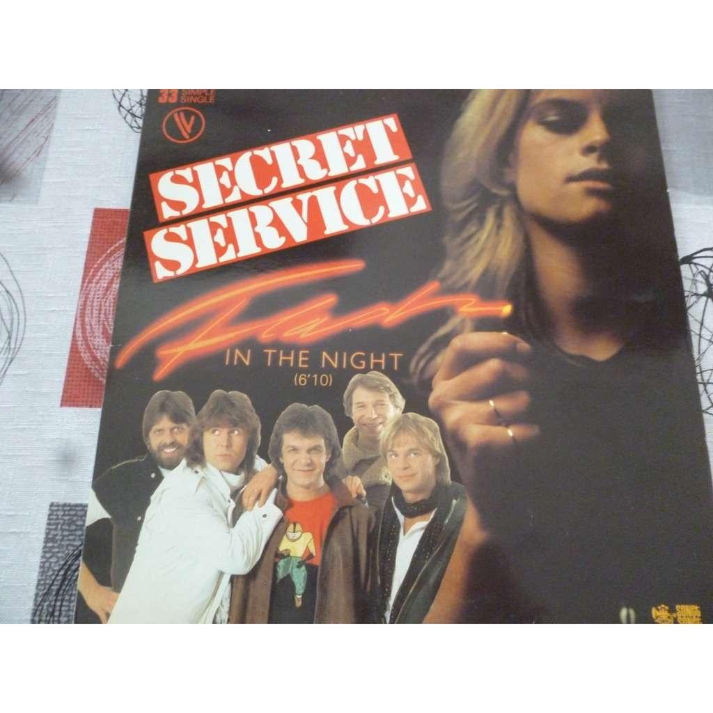 SECRET SERVICE in the night / watching julietta