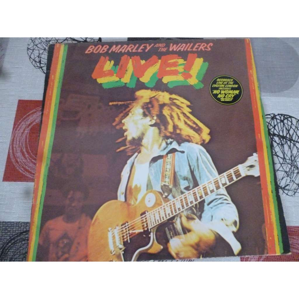 Bob Marley & The Wailers - Live! (LP, Album) Bob Marley & The Wailers - Live! (LP, Album)