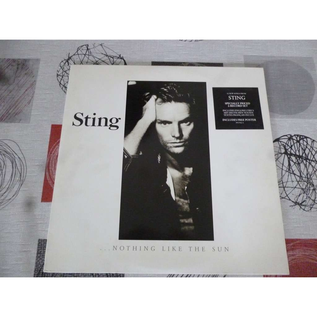 sting ... nothing like the sun