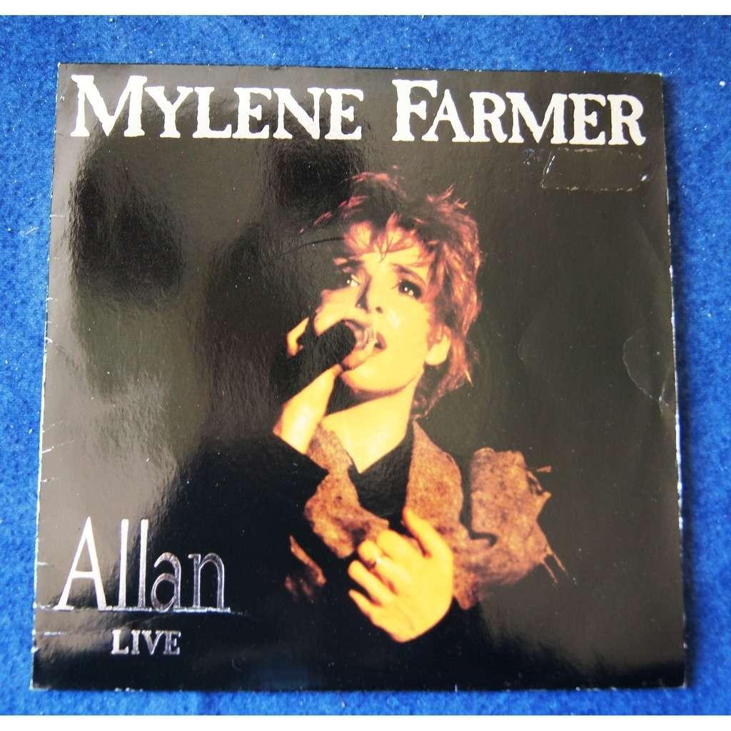 mylène farmer ALLAN live