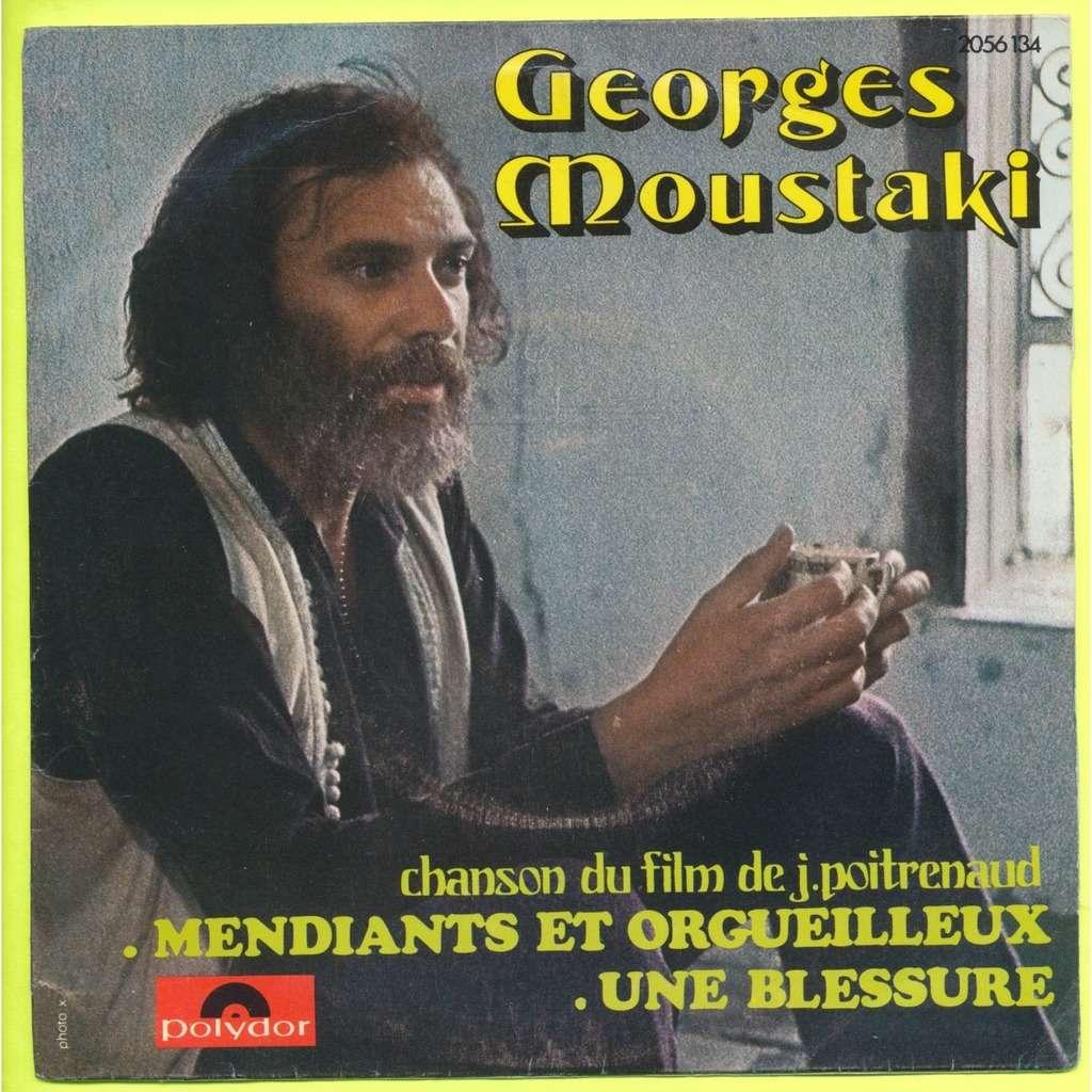 GEORGES MOUSTAKI mendiants et orgueilleux