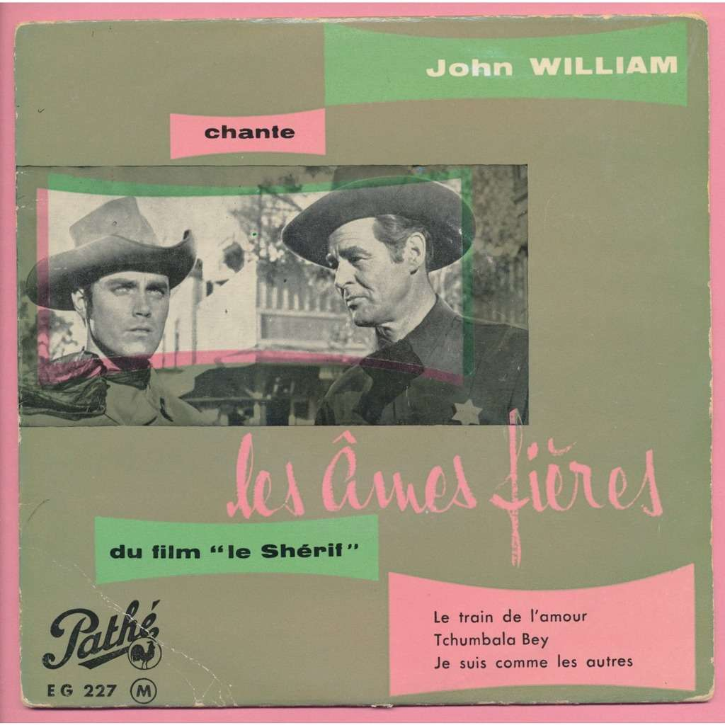 JOHN WILLIAM le sherif
