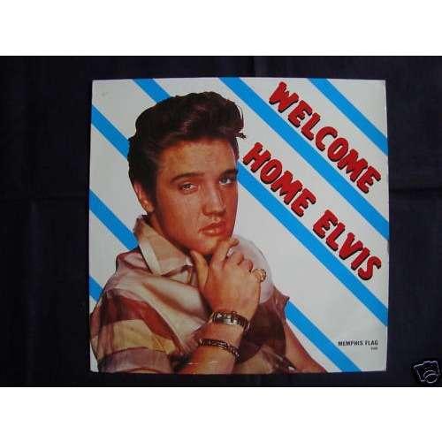 elvis presley 001 LP welcome home elvis LP 33 tours 13 outtakes & live