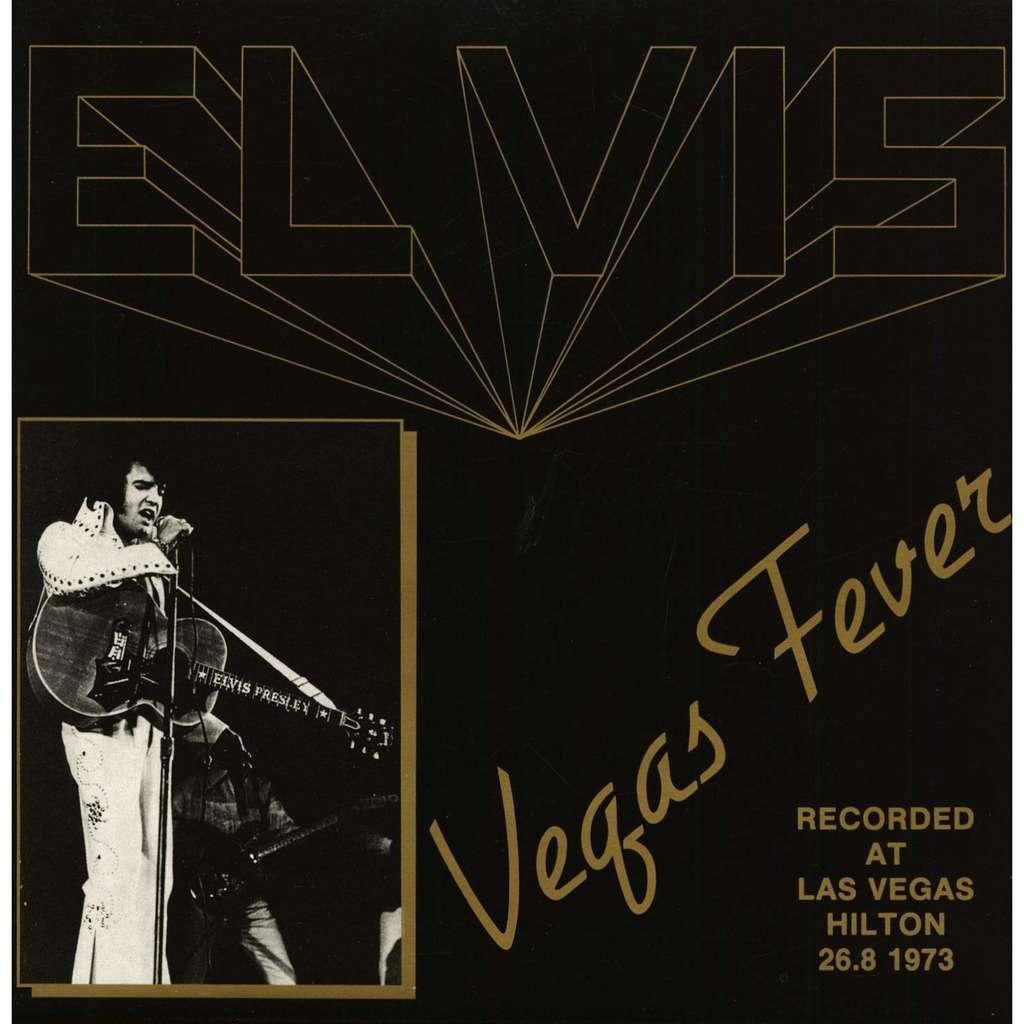 elvis presley 001 LP vegas fever 26/8/73 las vegas show