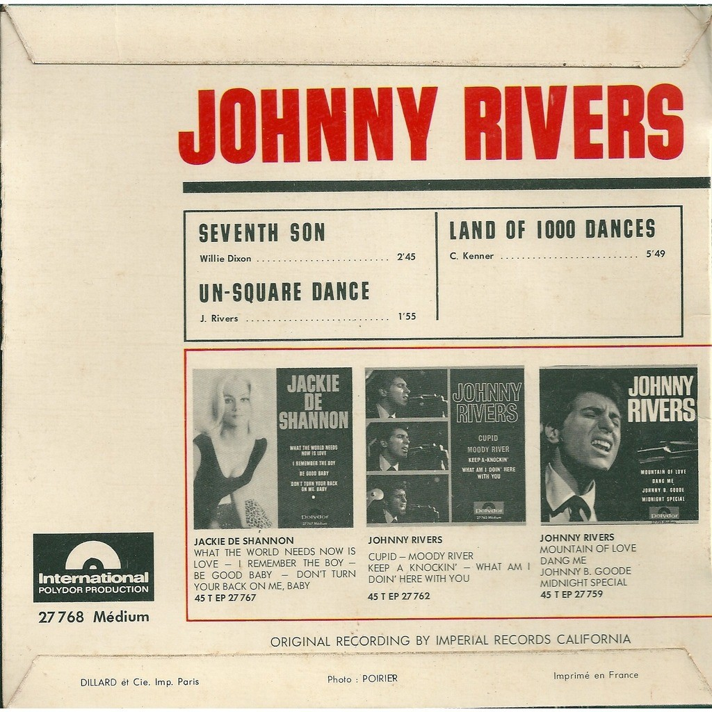 Johnny Rivers Seventh son - with tag