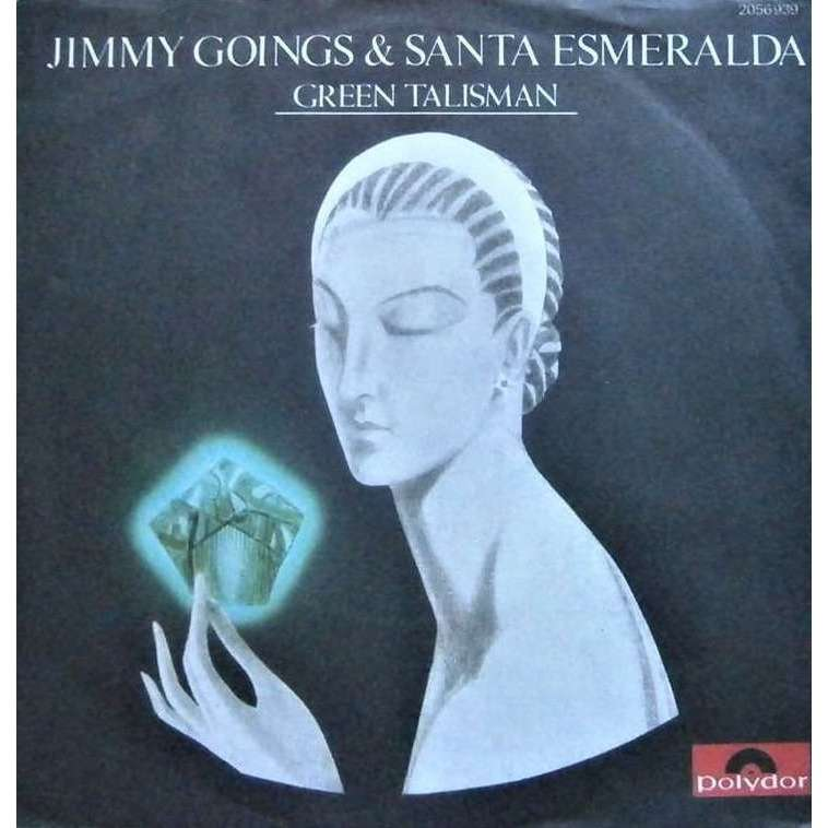jimmy goings & santa esmeralda green talisman