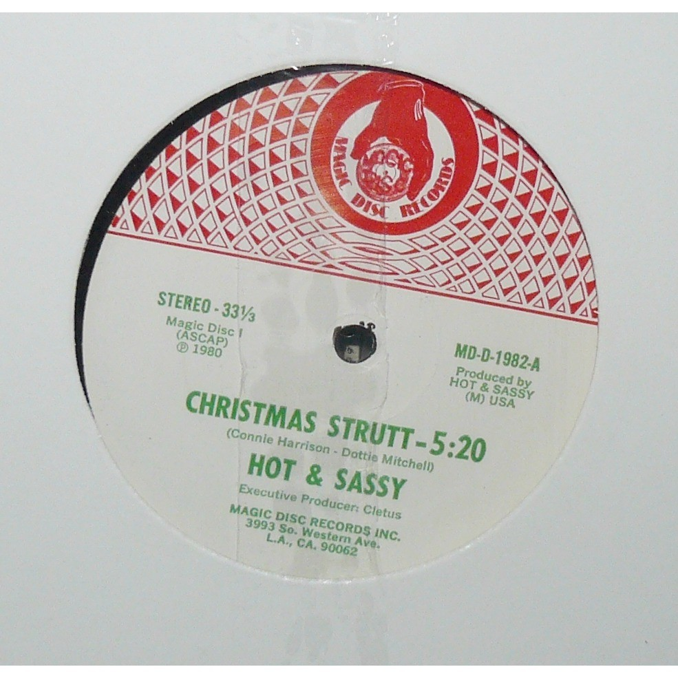 hot & sassy let's funk it up / christmas strutt
