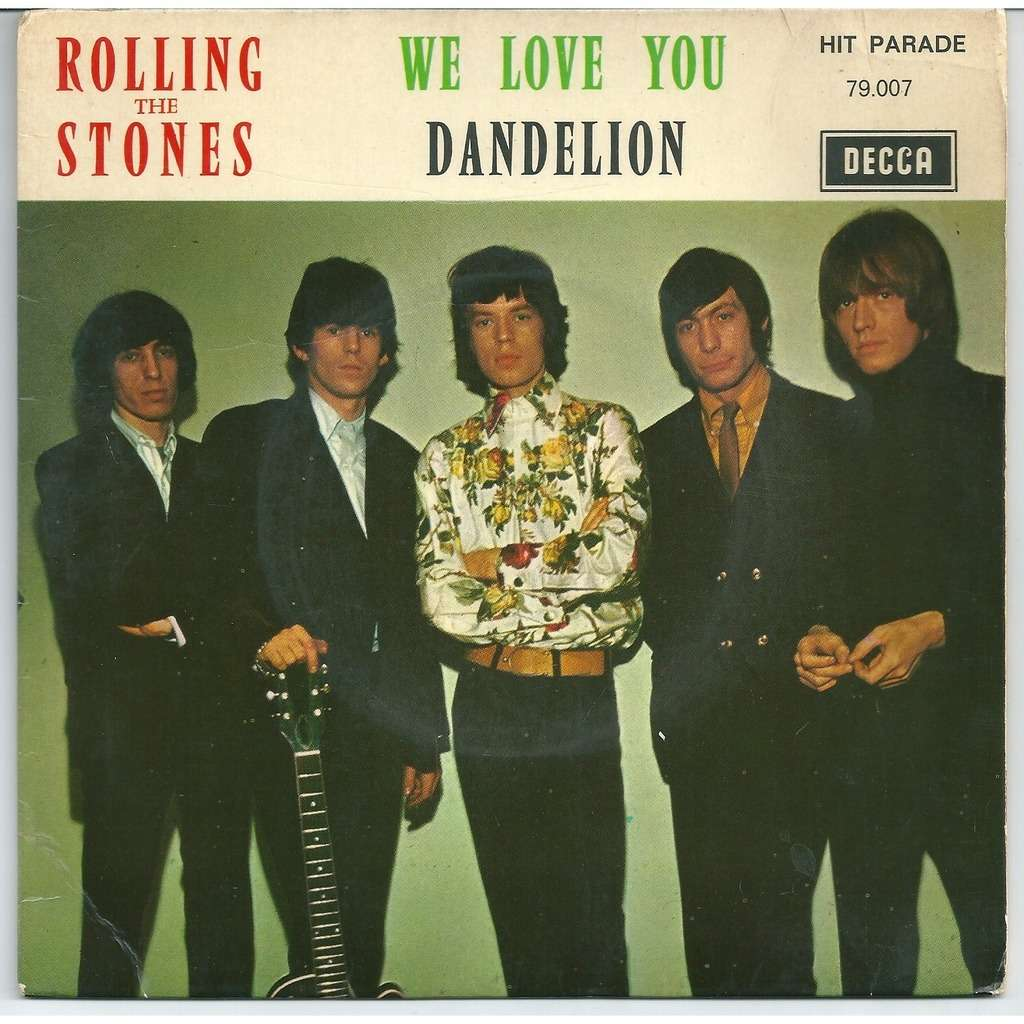 The Rolling Stones We love you - ed 1967-08