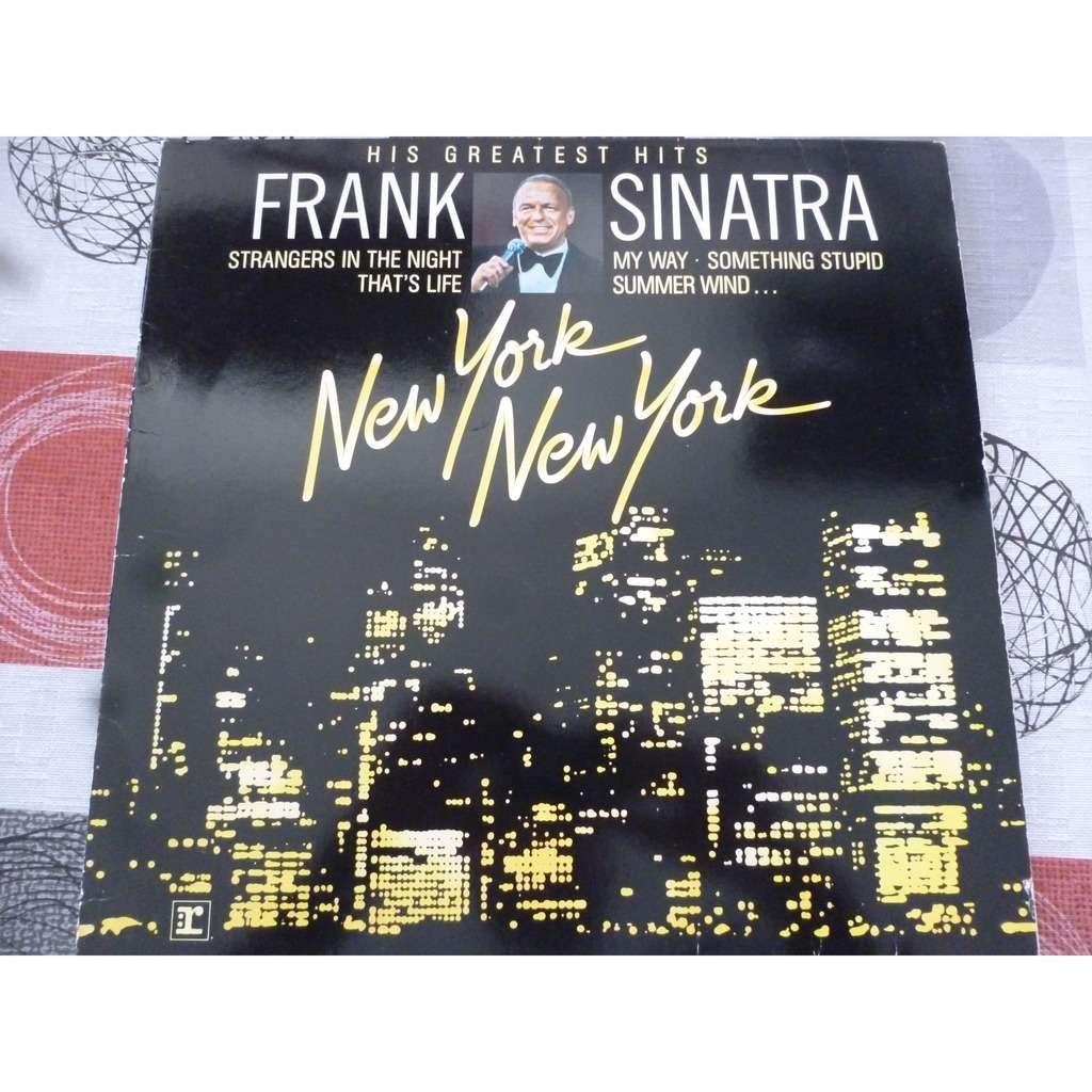 Frank Sinatra New York New York: His Greatest Hits