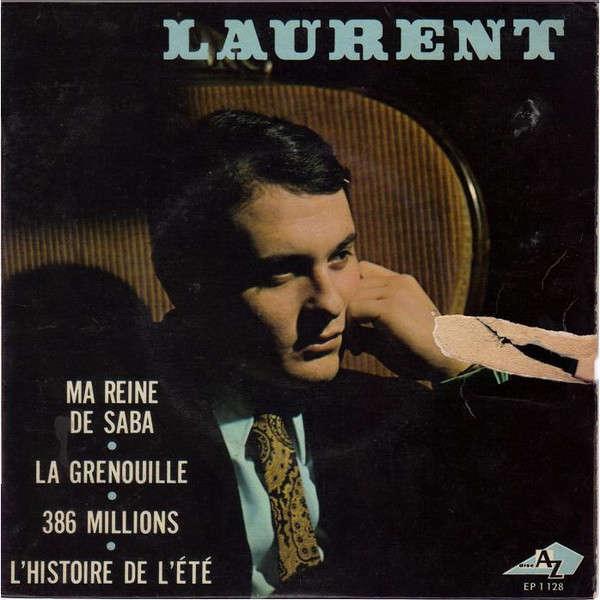 LAURENT Ma reine de saba + 3 (original FRench press - 1967)