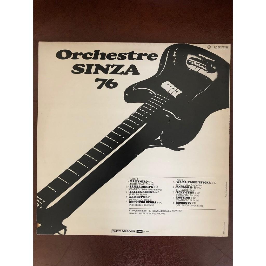 Orchestre Sinza 76 Orchestre Sinza 76