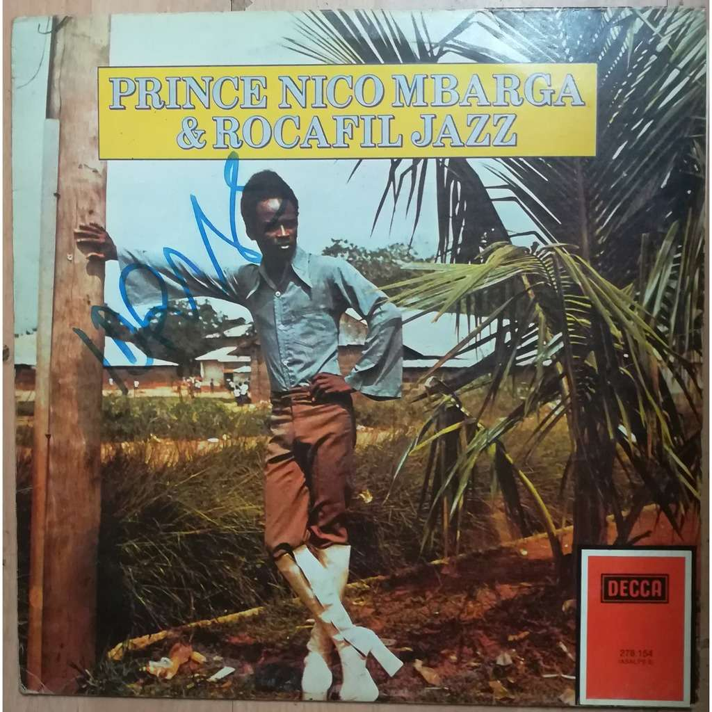 prince nico mbarga & rocafil jazz music line
