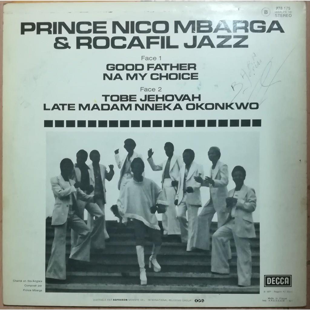 prince nico mbarga & rocafil jazz good father