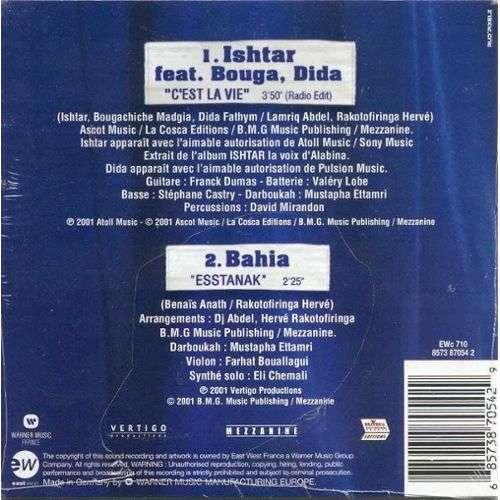Ishtar Feat-Bouga, Dida C'est La Vie (B.O.F La Vérité Si Je Mens 2)