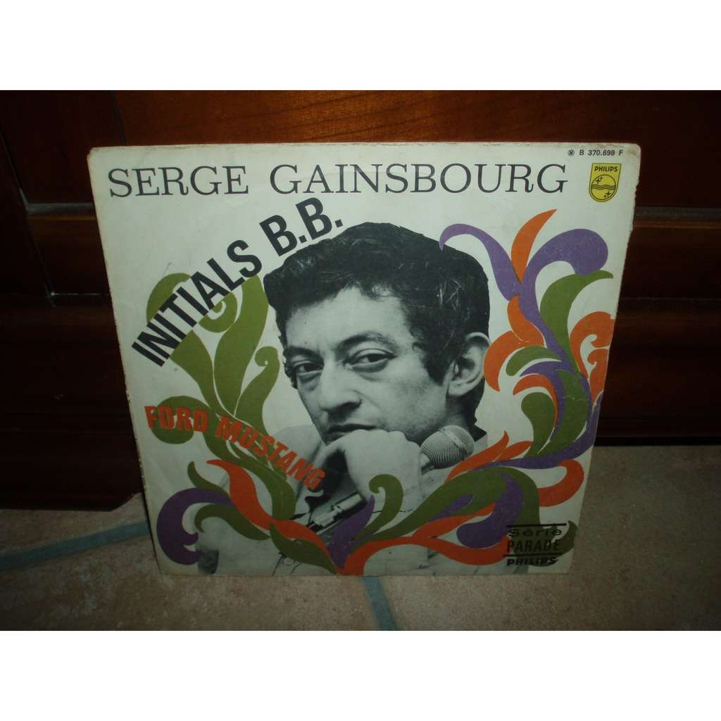 serge gainsbourg INITIALS B.B. / FORD MUSTANG