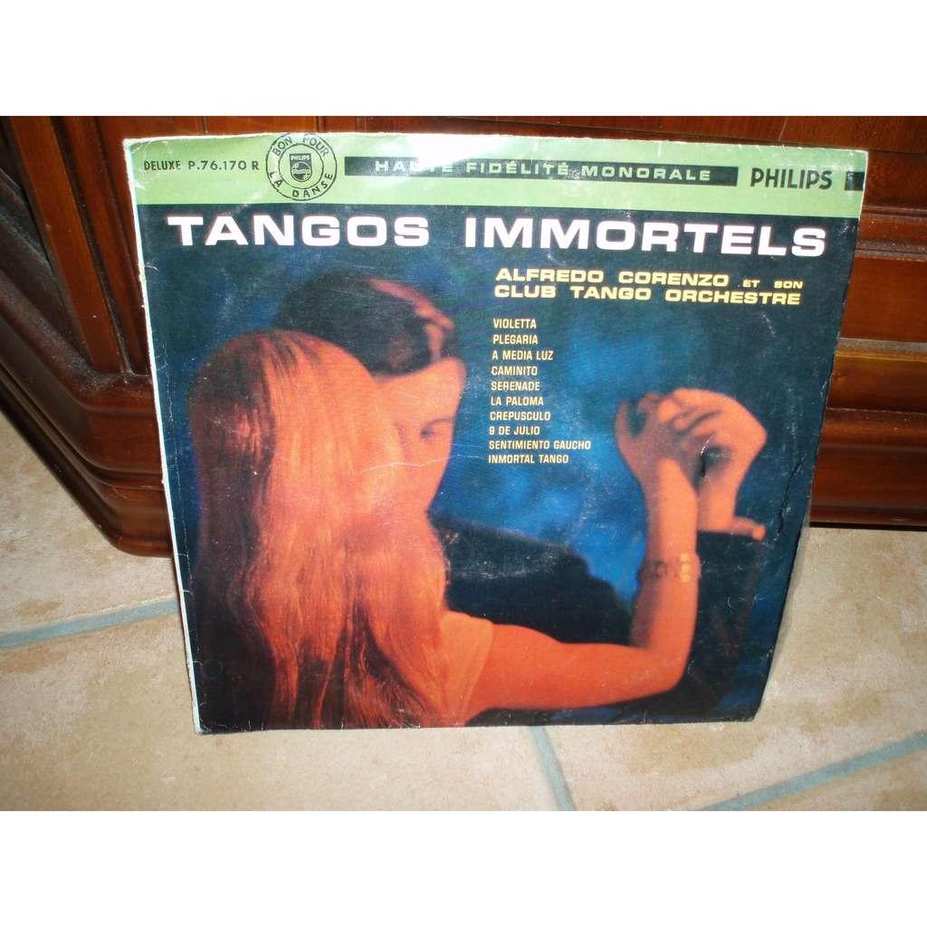 ALFREDO CORENZO TANGOS IMMORTELS