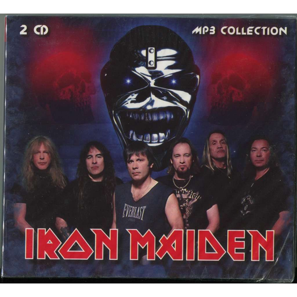 Iron Maiden MP3 Collection (1980-2010) 2xCD Digipak New & Factory sealed