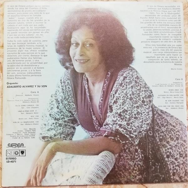 Omara Portuondo Omara canta el Son