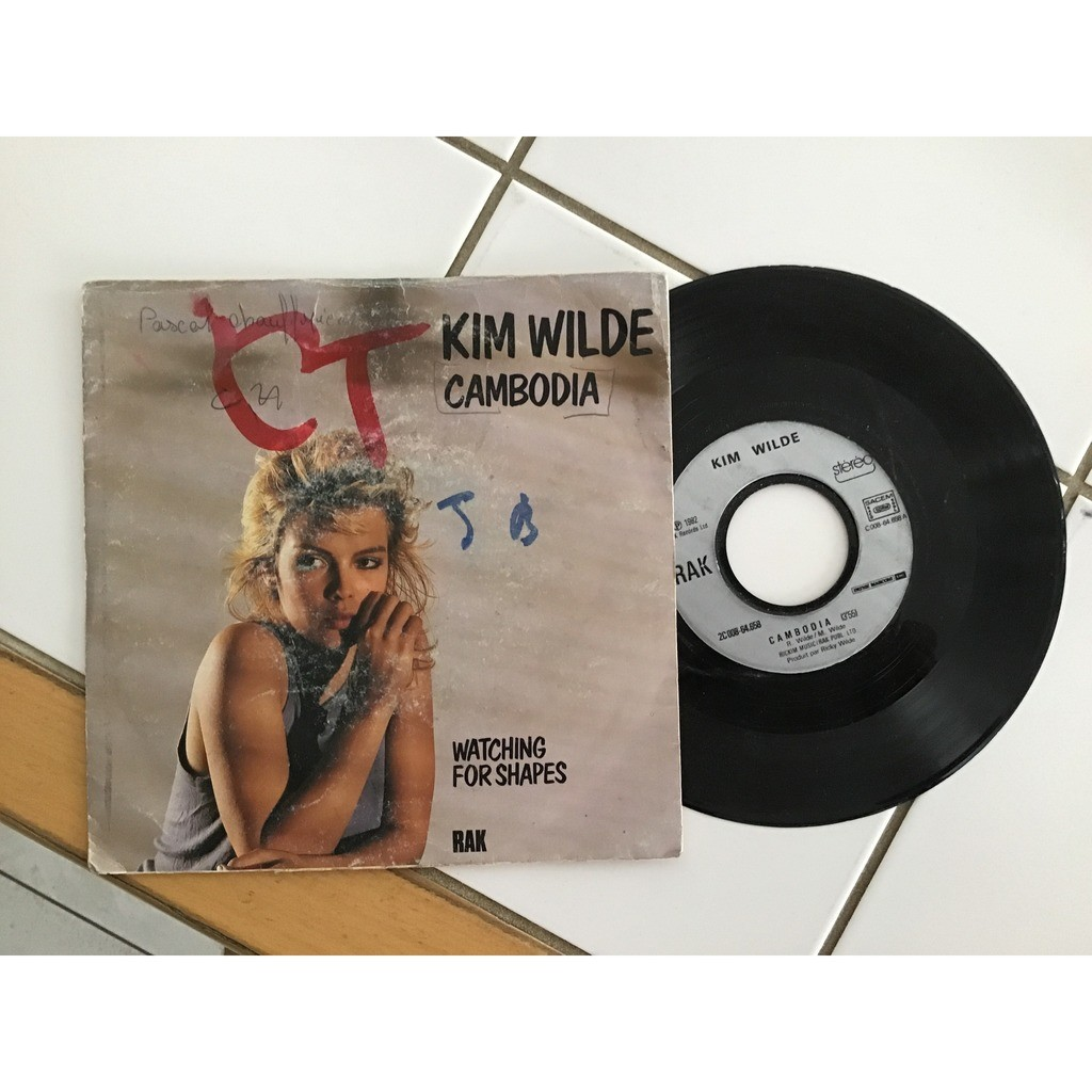 KIM WILDE cambodia / watching for shapes