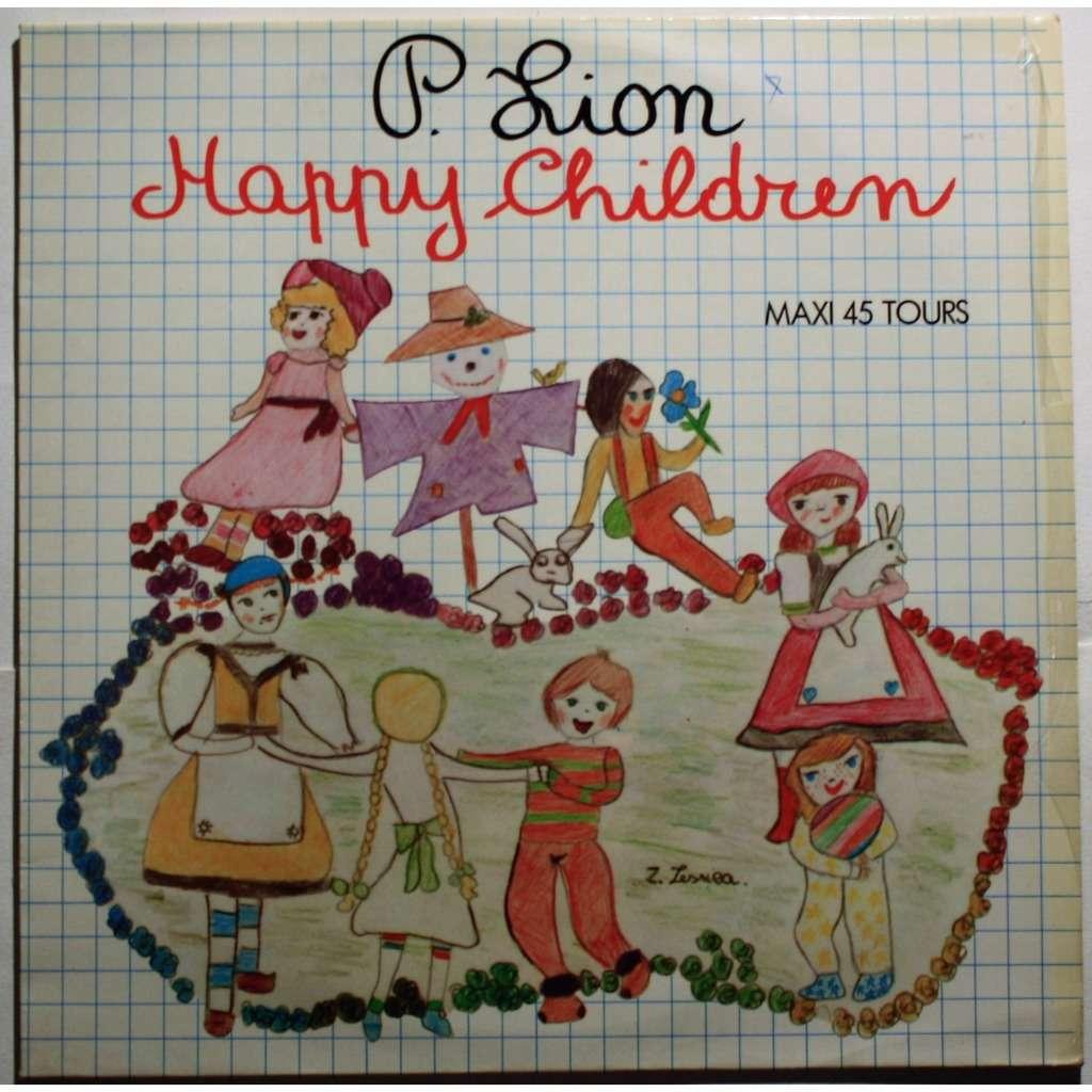 P. Lion Happy children