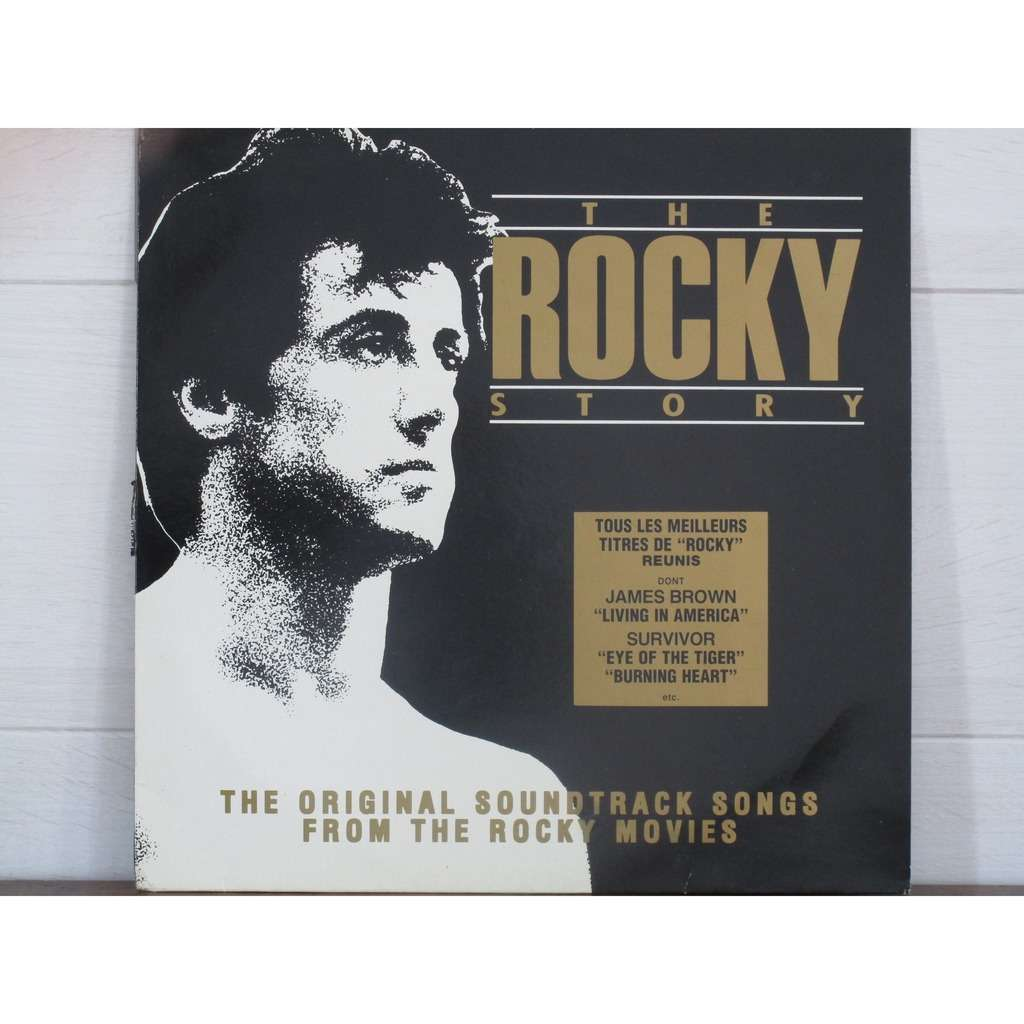 JAMES BROWN /Vince DiCola /SURVIVOR /JOHN CAFFERTY THE ROCKY STORY