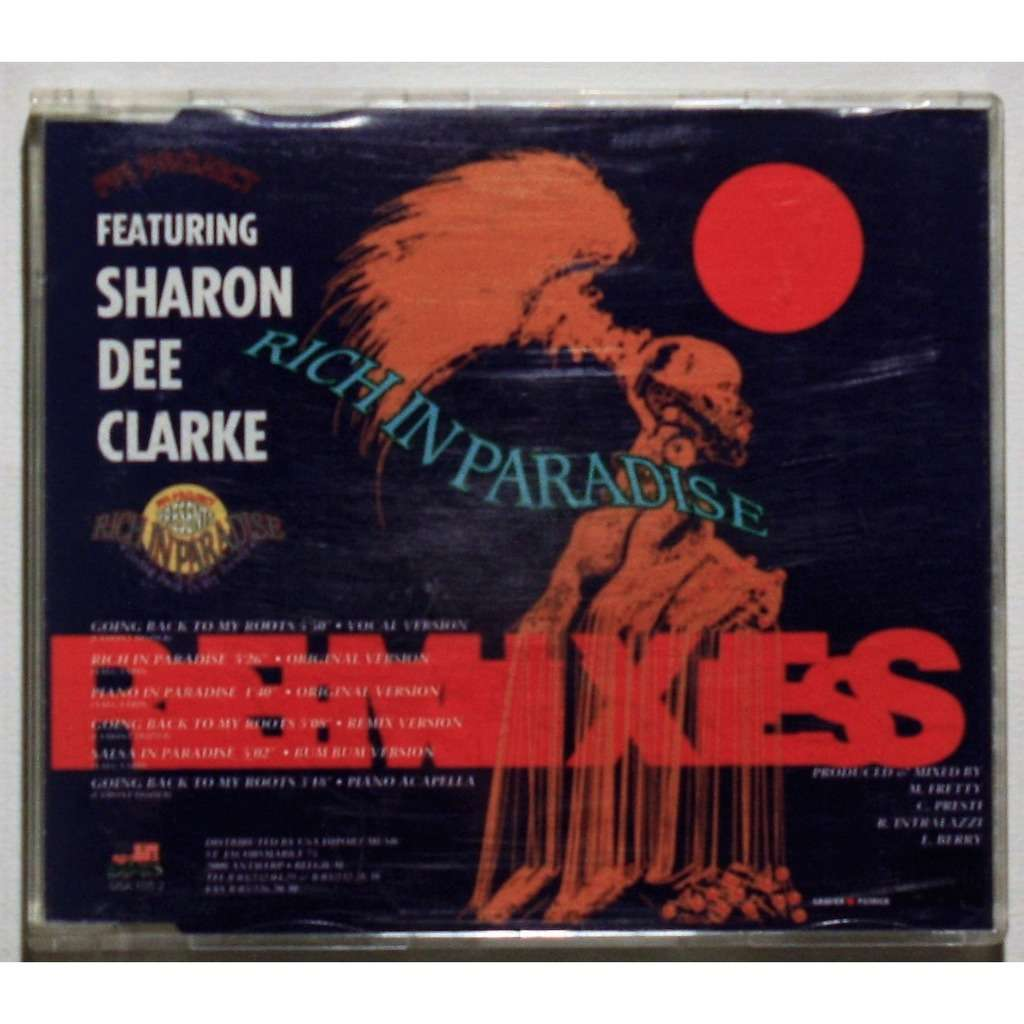FPI Project Featuring Sharon Dee Clarke Rich in paradise (Remixes)