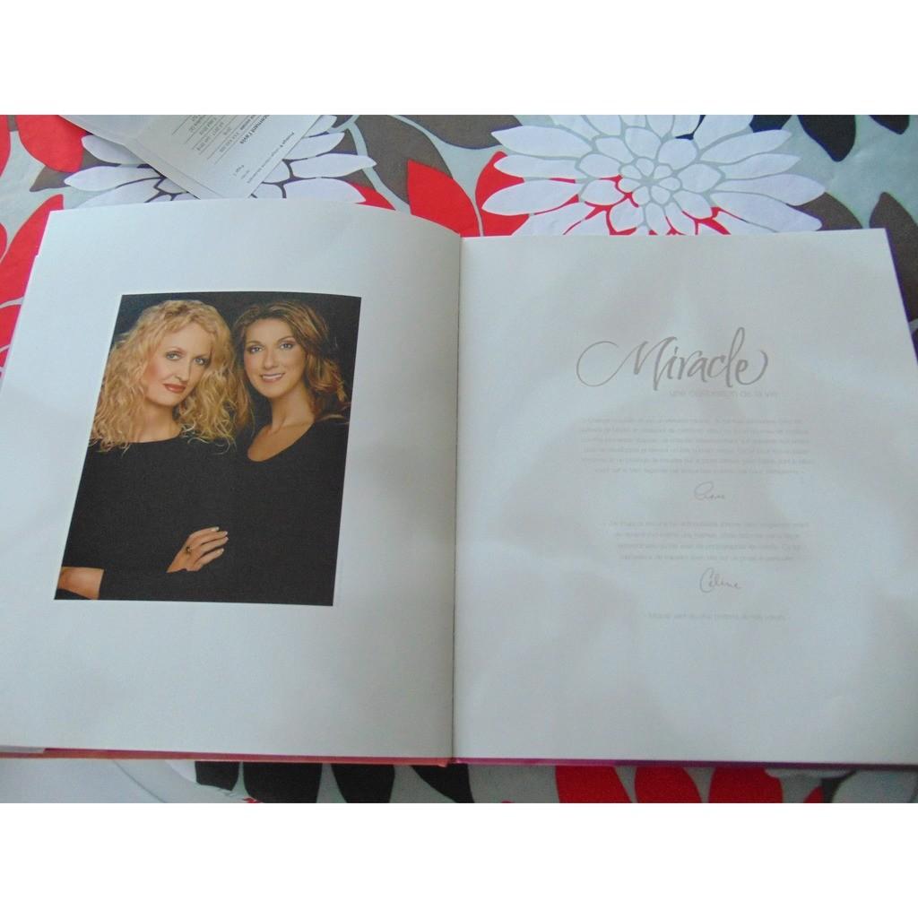 céline Dion Anne Geddes Miracle/une célébration de la vie (livre +cd+ dvd)