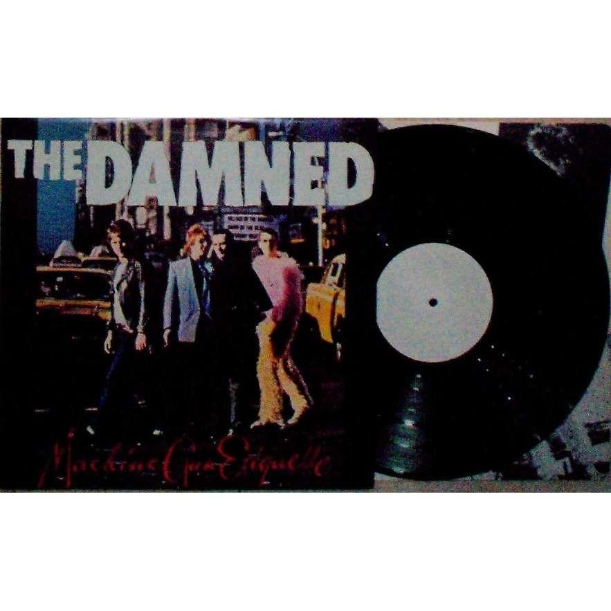 DAMNED MACHINE GUN ETIQUETTE (UK 1979 original & genuine 12-trk w/label vinyl LP TEST PRESSING ps+inner)