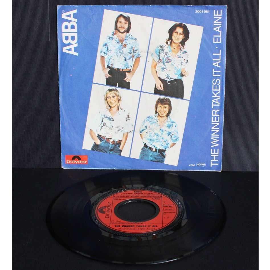 ABBA The Winner Takes It All / Elaine