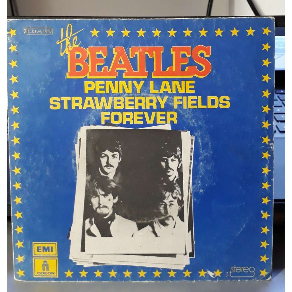 the beatles penny lane / strawberry fields forever