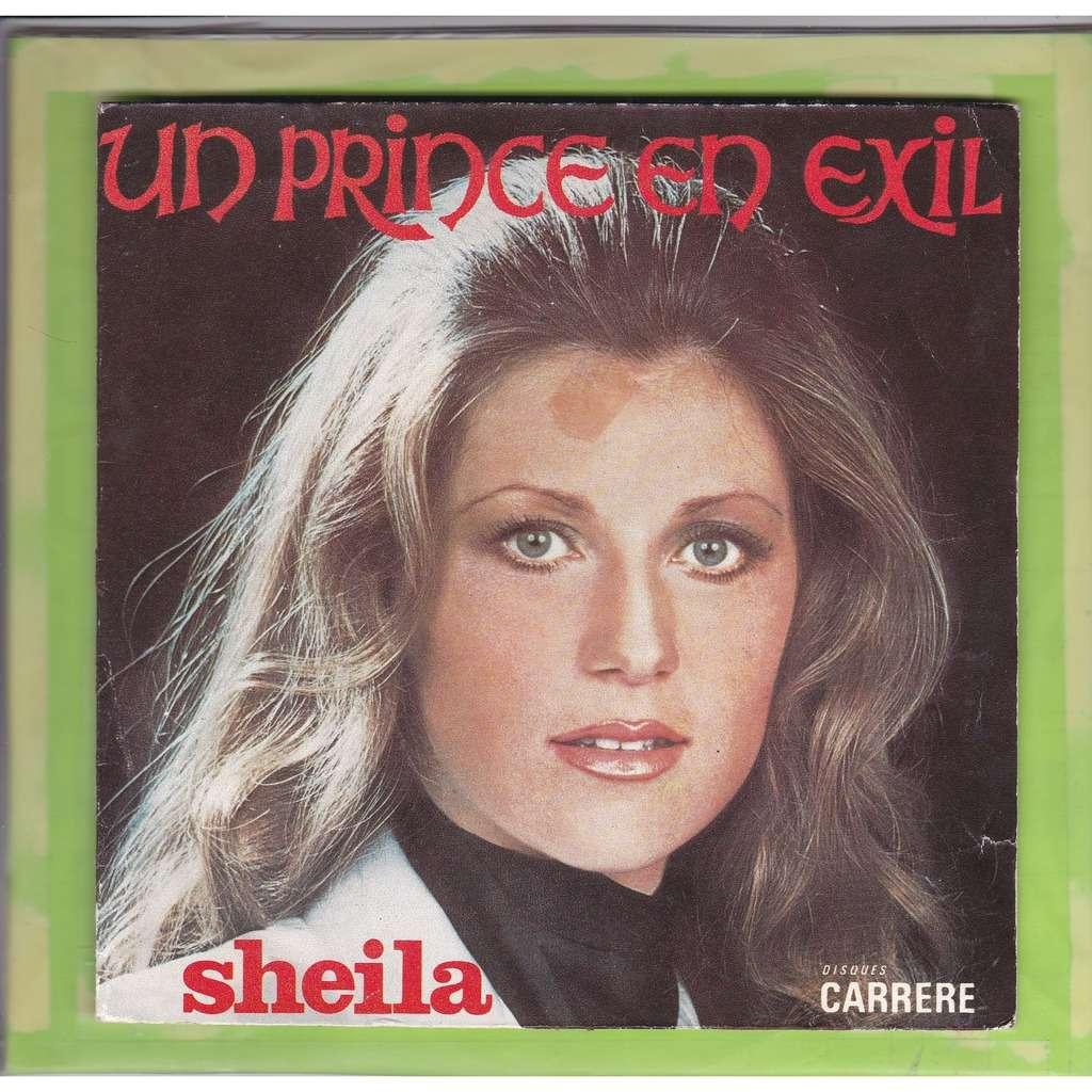 sheila un prince en exil