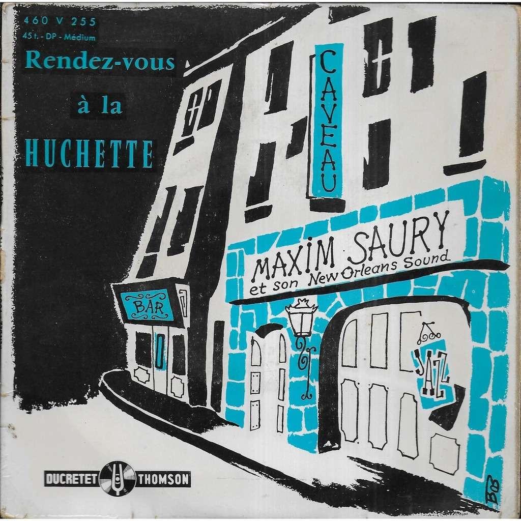 Maxime SAURY Rendez-vous à la Huchette