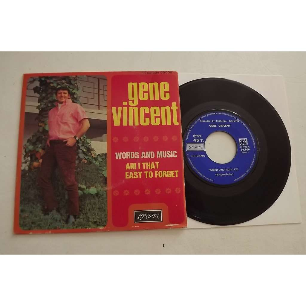 Vincent Gene words and music