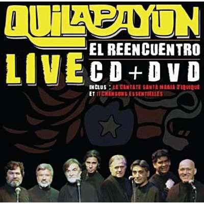 Quilapayún El reencuentro - Live CD+DVD