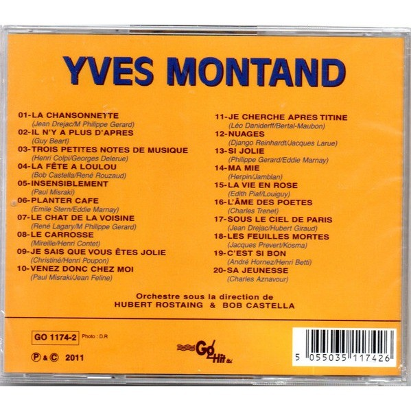 yves montand Compilation go hit