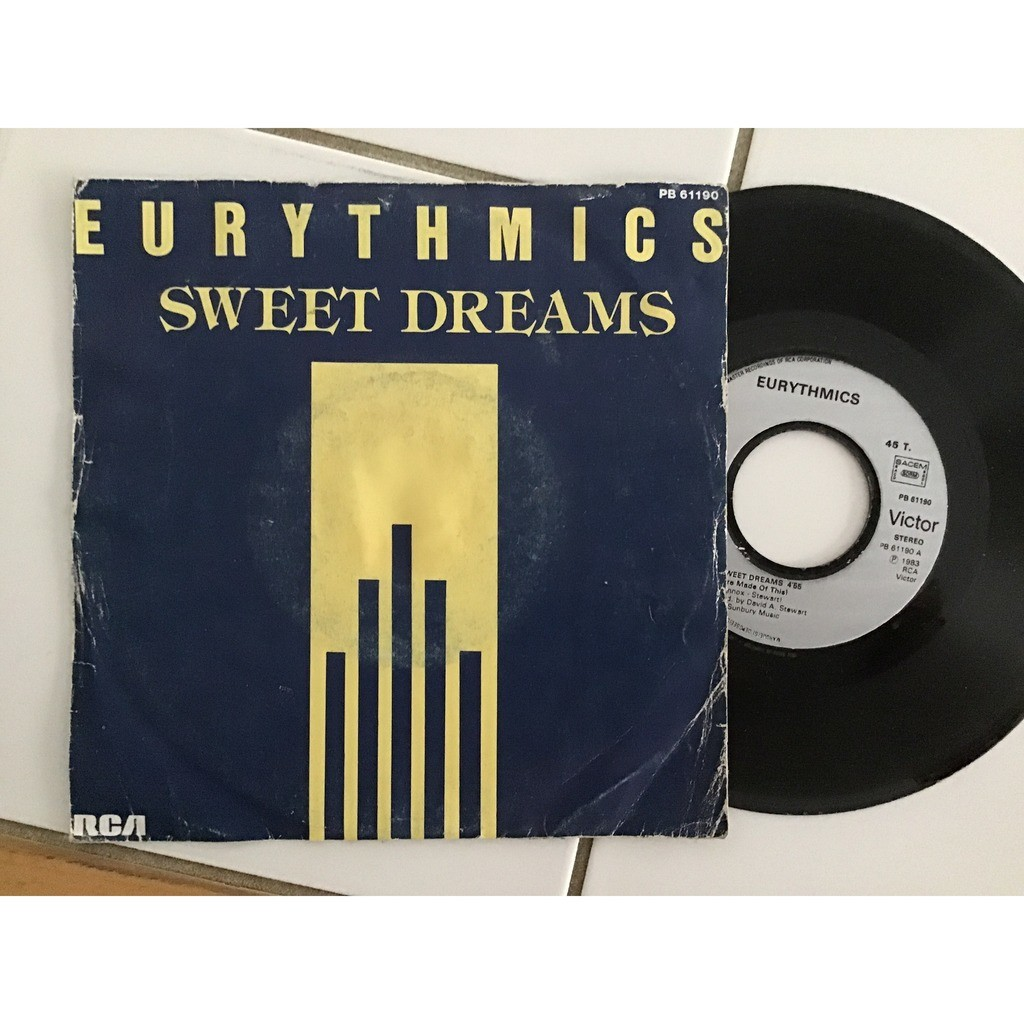 eurythmics sweet dream ( proche VG++ / EX )