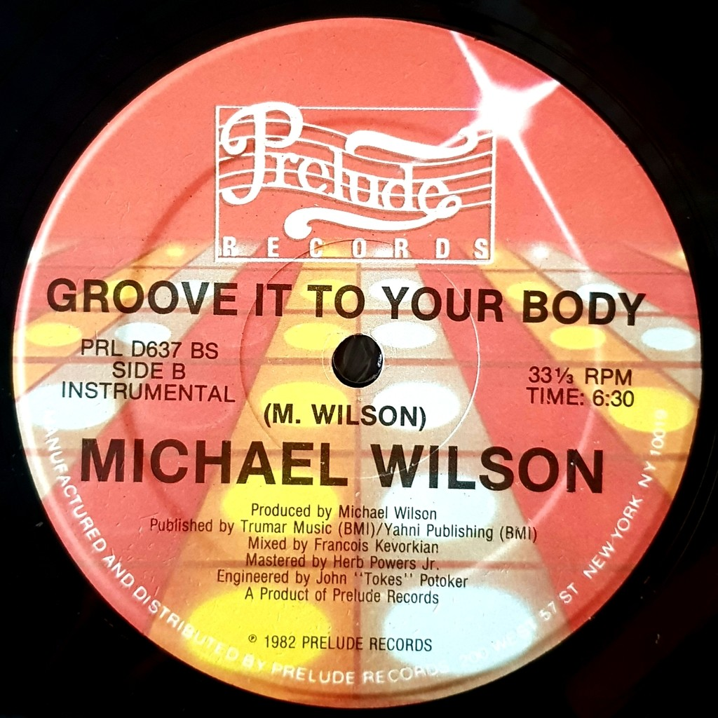 Michael wilson Groove it to your body