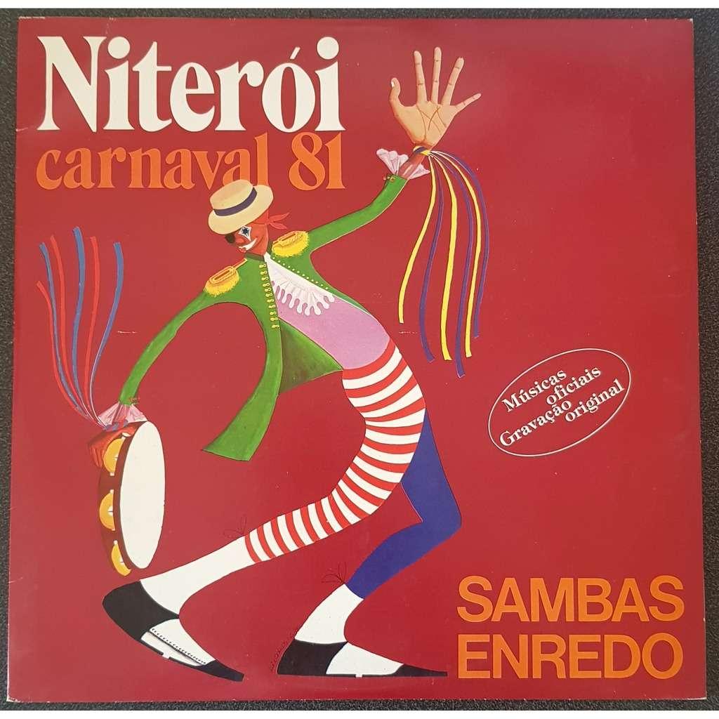 SAMBAS ENREDO Niteroi CARNAVAL 81