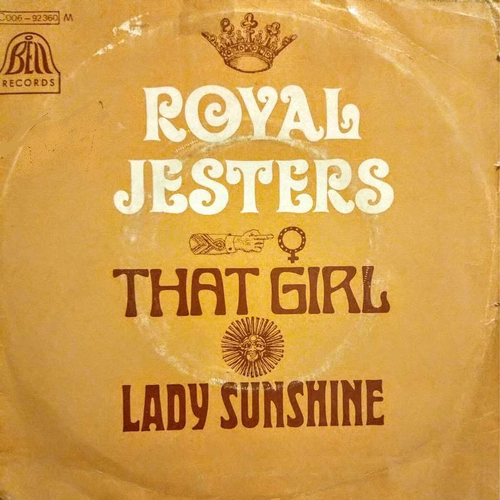 ROYAL JESTERS that girl / lady sunshine