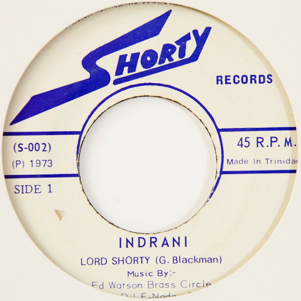 Lord Shorty Indrani / Calypso Is Ours