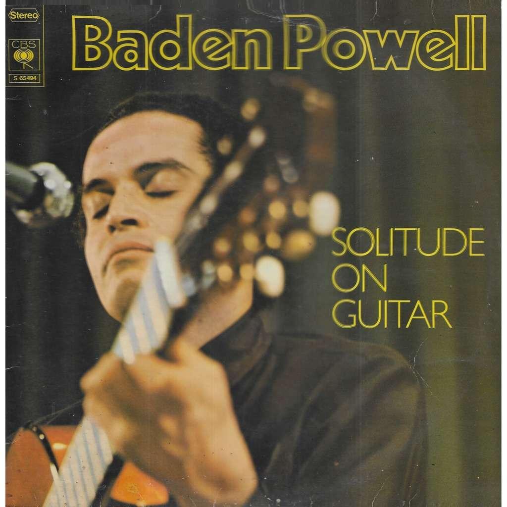 BADEN-POWELL guitare Solitude On Guitar